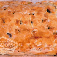 Пирог с курицей и картофелем Фото