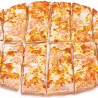 Сырные хлебцы с креветками Фото