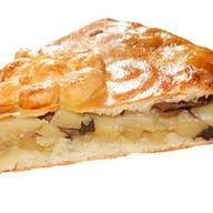 Киш с картофелем и грибами Фото