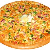Пицца с брокколи Фото