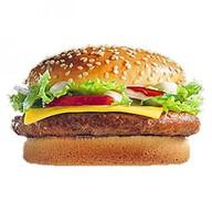 Двойной Чизбургер Де Люкс Фото