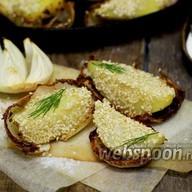 Картофель с кунжутом Фото