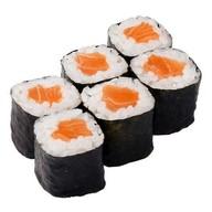 Сливочный ролл с лососем и сыром Фото