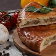 Пирог с картофелем и грибами (дрожжевой) Фото