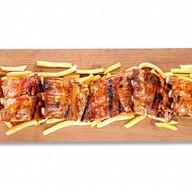 Метр свиных ребрышек (банкет) Фото