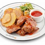 Шашлык из свинины Asia Фото