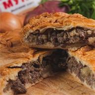 Пирог с говядиной Фото