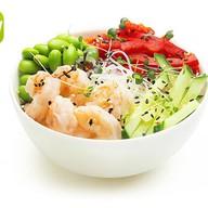 Салат фунчоза с креветкой Фото