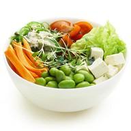 Поке с овощами и соусом на выбор Фото