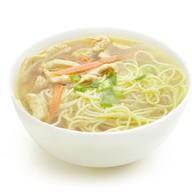 Суп куриный с лапшой Фото