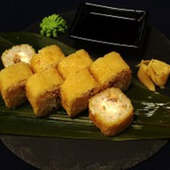 Харумаки с лососем Фото