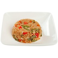 Тепаньяки рис с овощами Фото