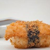 Горячие суши сяке Фото