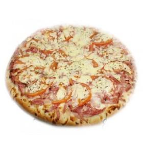 Пицца с колбасами - Фото