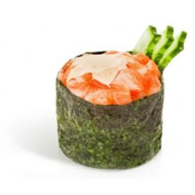Спайси суши с лососем - Фото