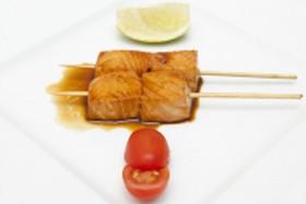 Шашлычки С лососем - Фото