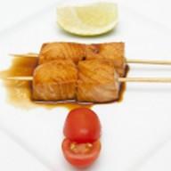 Шашлычки С лососем Фото
