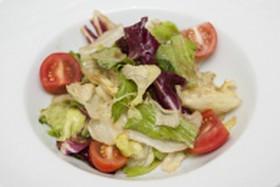 Салат овощной с ореховым соусом - Фото