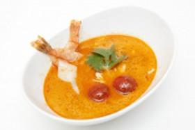 Тайский Tom Yum с креветками - Фото