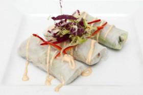 Вьетнамские роллы в рисовой бумаг - Фото