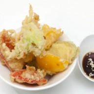 Овощи темпура Фото