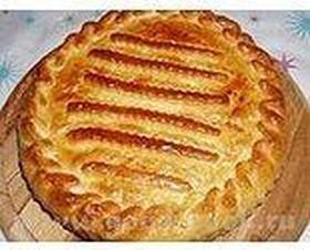 Пирог с фаршем - Фото
