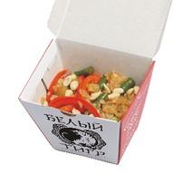 Горячий салат с рисом Фото