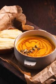 Тыквенный суп-пюре - Фото
