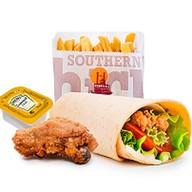 Chicken ланч Фото