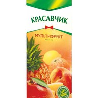 Сок Красавчик Мультифрукт Фото