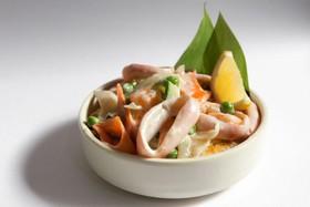 Морепродукты в сливочном соусе - Фото