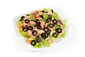 Салат с лососем - Фото