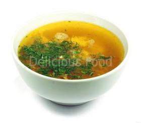 Суп с курицей - Фото