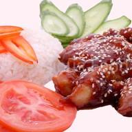 Курица в соусе терияке Фото