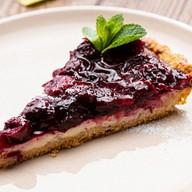Творожный тарт с вишней Фото