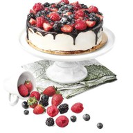 Эко с ягодами торт Фото