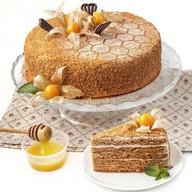 Медовик со сметанным кремом торт Фото