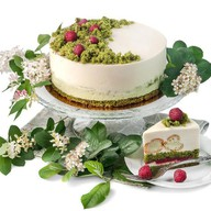 Малахитовая шкатулка торт Фото