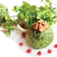 Пхали из зеленой фасоли Фото