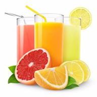 Натуральный сок свежевыжатый Фото