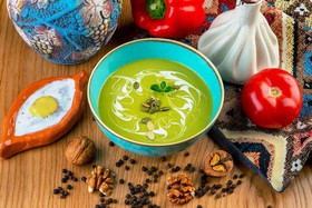 Крем-суп с брокколи - Фото