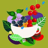 Таежный с ягодами Фото