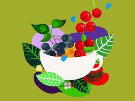 Таежный с ягодами - Фото