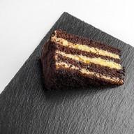 Шоколадно-банановый брауни Фото