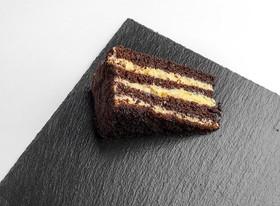 Шоколадно-банановый брауни - Фото