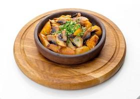 Картофель с грибами - Фото