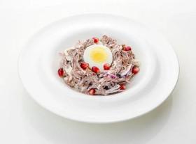 Гнездо перепелки салат - Фото