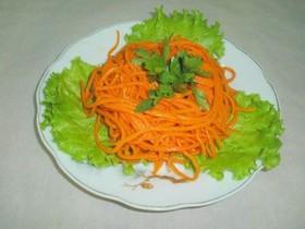 Салат морковка по-корейски - Фото