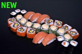 Сет с лососем - Фото