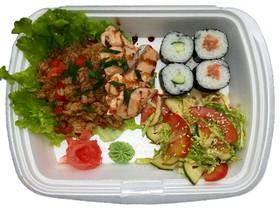 Бизнес-ланч с лососем - Фото